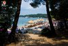 Rovinj Lone Beach sun and fun